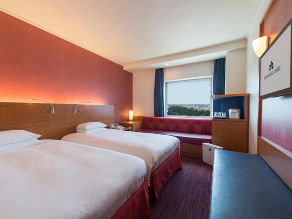 ホテル日航成田のコンフォートツインルーム