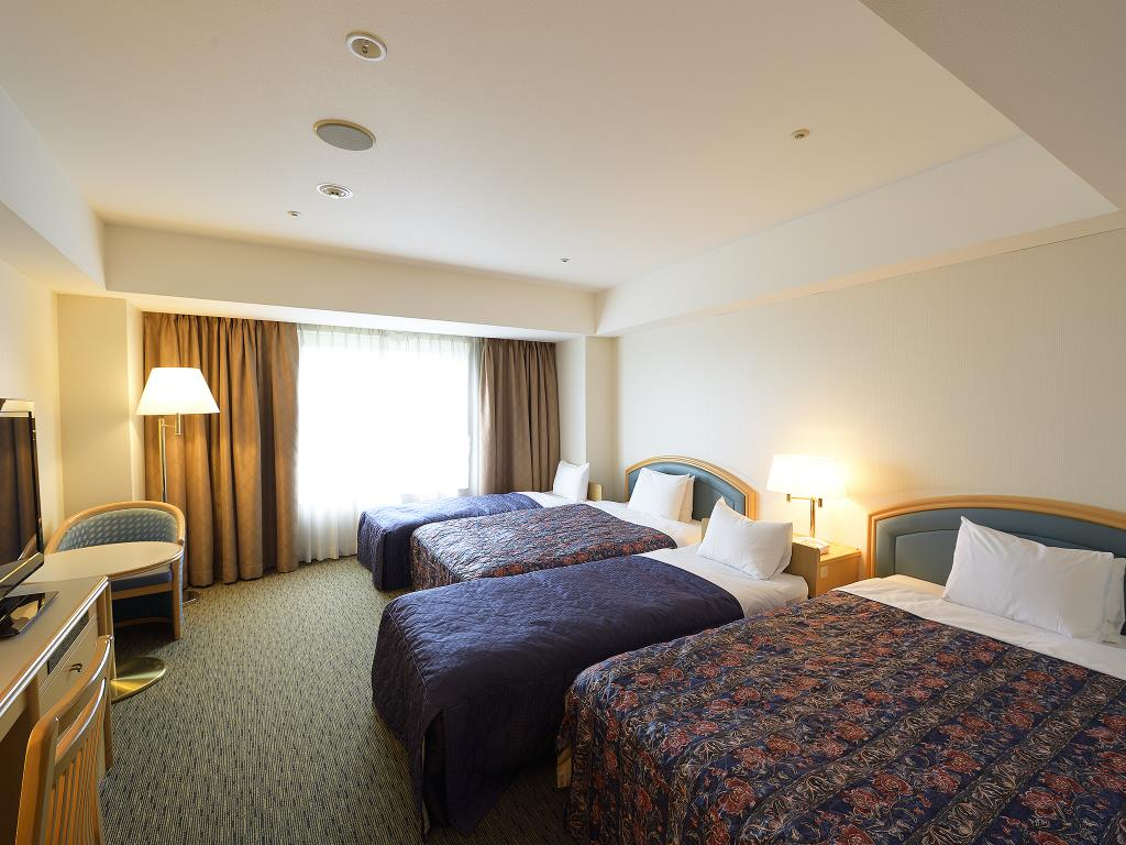 成田東武ホテルエアポートのクアッドルーム
