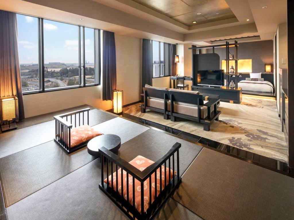 ホテルマイステイズプレミア成田の和室スイート