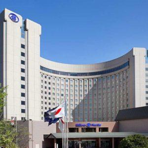 ヒルトン成田のホテル外観