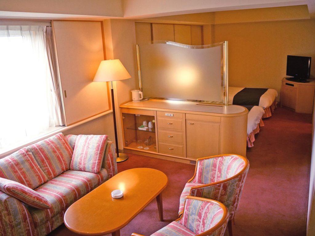 マロウドインターナショナルホテル成田のデラックスツインルーム
