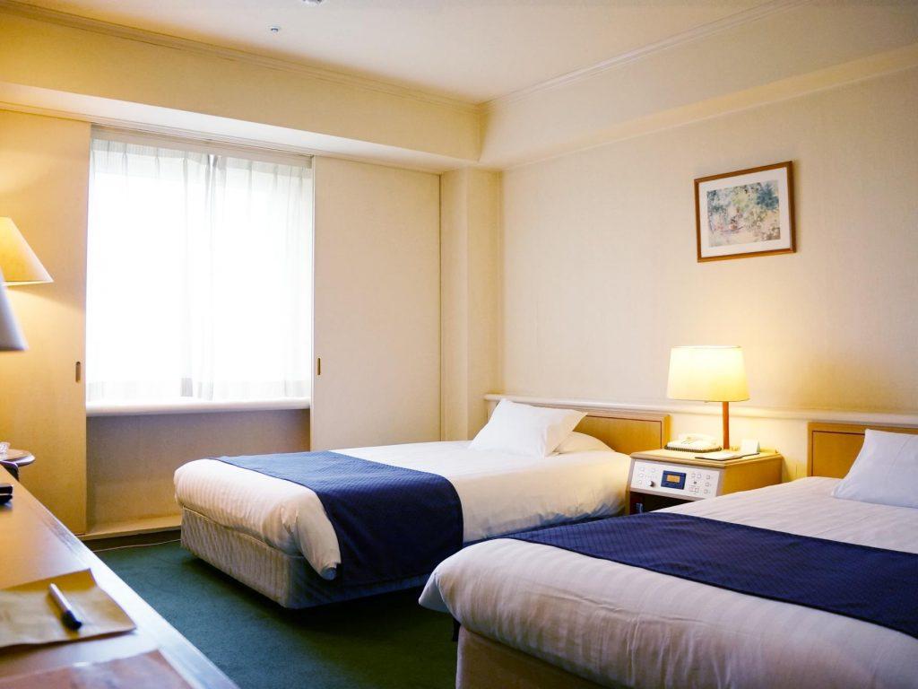 マロウドインターナショナルホテル成田のスタンダードツインルーム
