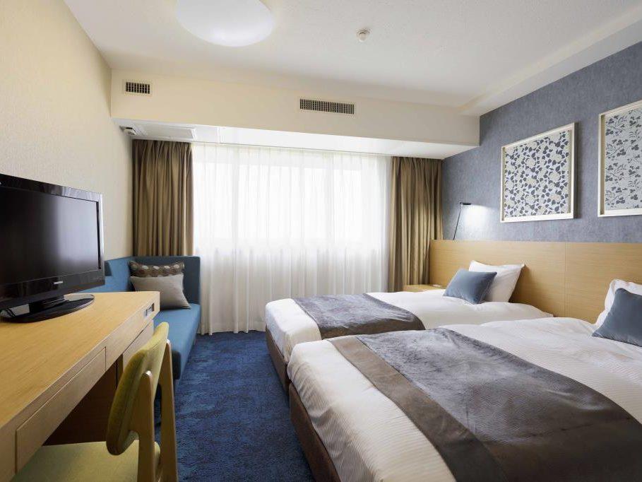 成田ビューホテルのスーペリアツインルーム