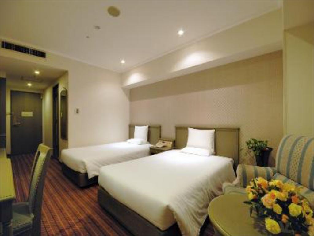 インターナショナルガーデンホテル成田のツインルーム